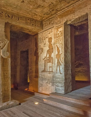 Sala de les ofrenes (Porschista) Tags: abusmibel egipte ramsesii salaofrenes nefertiti nefertari