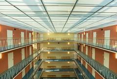 View from above (*Capture the Moment*) Tags: 2017 architecture architektur atrium fotowalk licht light munich münchen sonya6300 sonyilce6300 zeisstouitdistagon2812