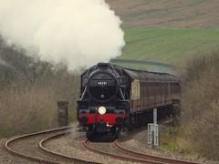 Test run (feroequineologist) Tags: 45231 black5 lms sherwoodforester hellifield railway train steam mainlinesteam