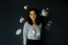 Teaparty (Sydni Zaugg) Tags: portrait surreal 365 project teapot teaparty girl teen youth amature conceptual portrai