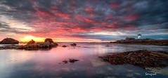 Pointe de Trévignon (Soregral) Tags: longexposure paysage ciel poselongue coucherdesoleil brittany techniquephoto bretagne lumière nuage leefilter