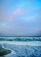 OBX Rainbow (martincutrone) Tags: obx clouds ocean rainbow