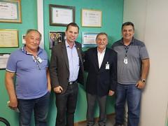 Reunião com advogado Dr João Carlos Flor e o morador do Bigorrilho Sr Agenor (problema de terreno)