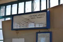 Mapa da Triagem (Cavalo) - Entroncamento (valeriodossantos) Tags: comboio train ip infraestruturasdeportugal mercadorias manobras triagem cavalo entroncamento linhadonorte caminhosdeferro portugal