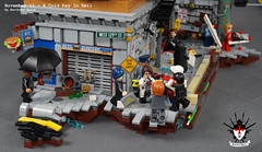 A Cold Day In Hell 8 by Barthezz Brick (Barthezz Brick) Tags: crime scene lego moc barthezz brick city police dreams custom barthezzbrick