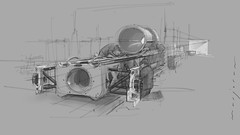 BH backs (Stefan Marjoram) Tags: sketch drawing ipad pro procreate apple pencil car vintage racing plein air