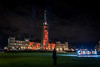 Poppies and Peace : November 6, 2017 (jpeltzer) Tags: ottawa poppydrop remembranceday peacetower parliament parliamenthill