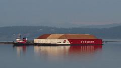 Seaspan Pacer ~ Crofton (Chris City) Tags: tug tugboat ship boat barge tow towing crofton seaspan harbour harbor pulp
