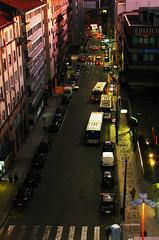 STCP - Rua do Bolhão, local de término de várias linhas de autocarro (Remise da Boavista) Tags: stcp