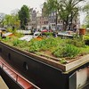 Boat house in Amsterdam (eikeblogg) Tags: travelpics amsterdam netherlands houseboat garden roof gracht citylife sustainable living style individual mobilephotography typical ngc