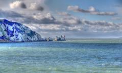 The Needles (ec1jack) Tags: ec1jack kierankelly canoneos600d isleofwight solent england britain uk europe november 2017 autumn island britishisles theneedles alumbay whitecliffs chalk ocean