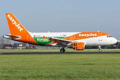 EasyJet / A319 / G-EZDL / EHAM 18R (_Wouter Cooremans) Tags: green ams eham amsterdam amsterdamschipholairport amsterdamschiphol schiphol spotting spotter avgeek aviation airplanespotting easyjet a320 gezdl 18r europecar