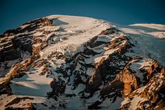 Mount Rainier at Sundown (Sim Br) Tags: mountrainiernationalpark mountain snow