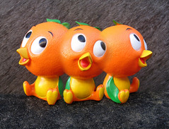 KEED SPILLS (The Moog Image Dump) Tags: florida orange bird toy figure vintage trip trippy freaky acid speed
