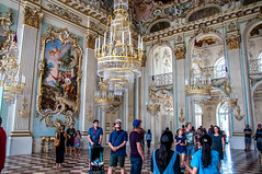 Steinerner Saal (Tony Shertila) Tags: 20170827133650 germany nymphenburgpalace schlossnymphenburg wittelsbach architecture baroque bavaria building canal clouds estate europe fountain gardens indoor lake munchen munich palace sky woodland münchen bayern deutchland estace room tourist painting decoration fresco deu