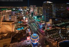 Las Vegas Boulevard South (20171111-DSC03223-Edit) (Michael.Lee.Pics.NYC) Tags: lasvegas nevada eiffeltower paris bellagio cosmopolitan planethollywood aria veertowers mandarinoriental luxor mgmgrand hotel aerial night architecture cityscape lasvegasstrip lasvegasboulevard sony a7rm2 zeissloxia21mmf28