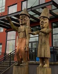 DSC_8373 (Copy) (pandjt) Tags: chilliwack bc britishcolumbia stólō stolo firstnation welcomefigures welcome sculpture carving publicart stólōnation