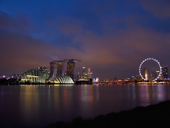 City twilight (elenaleong) Tags: twilight cityscape landmarks waterfront reflections bluehour elenaleong