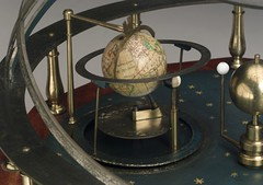 1924-471|10437826 (gorbutovich) Tags: astronomydemonstrationmodelminiatureplanetariumterrest astronomy demonstration model miniature planetarium terrestrial globe john troughton armillary bands octagonal base planets earth moon london greater england united kingdom 17751799 18th century 19th brass steel mahogany paper case early including late orrery showing wooden