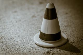 Cone, alone