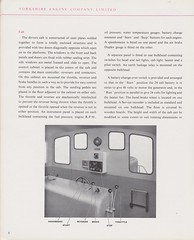 Yorkshire Engine Company 1959 Janus 400hp Diesel Electric Brochure (Clausentum0) Tags: yorkshire engine company yec janus rolls royce diesel electric industrial locomotive