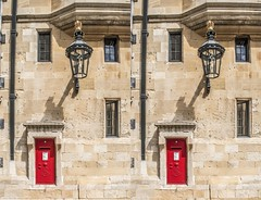 At Windsor Castle (Teddy Alfrey) Tags: 3d stereo crosseyed crossview crosseye