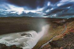 Gullfoss (CROMEO) Tags: gullfoss waterfall water fall cascada islandia top island iceland nature natural naturaleza north atlantic ocean nikon full frame capture cromeo photography photo picture colors euro europe landscape paisaje cr pic digital artwork views eye world traveller trip make