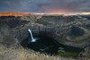 Palouse Falls 2 (sarah_presh) Tags: palouse falls palousefalls washingtonstate waterfall water longexposure flow sunset nikond750 leefilters polariser ndgrad rain weather clouds smooth