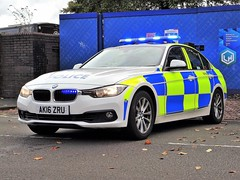 West Midlands Police BMW 330d Traffic Car AK16 ZRU (OPS38), Birmingham. (Vinnyman1) Tags: west midlands police wmp bmw 330d traffic car ak16 zru ops38 operations rpu roads policing unit road crime anpr automatic number plate recognition cctv closed circuit television enabled birmingham emergency services service rescue 999 england uk united kingdom gb great britain