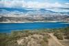 Lake Cachuma (thedailyjaw) Tags: lakecachuma lake mountain range view clouds layers d610 tamron70200mm tamron landscape lakescape california drought