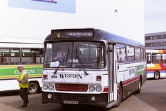 STAGECOACH WESTERN SCOTTISH 658 GCS58V (bobbyblack51) Tags: stagecoach western scottish 658 gcs58v leyland leopard alexander y type westernsmt l58 ayr bus station 1995