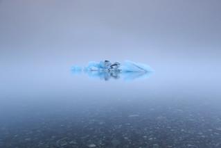 Mist and ice