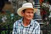 Colombian George W Bush? (AdamCohn) Tags: kmtoin adamcohn angostura colombia cowboy cowboyhat geo:lat=6885647 geo:lon=75335246 geotagged man portrait talking wwwadamcohncom antioquia