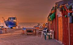 Pesca Artesanal.  Cabo de Gata (zapicaña) Tags: cabodegata cabo gata almeria andalucia españa spain europe europa playa beach barco boat fish sunset atardecer arena sand