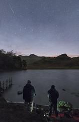 Night Photography at Blea Tarn (Nick Landells) Tags: night photography photo walk course bleatarn lakedistrict lakelandphotowalks lake tarn stars starry sky ligmoorfell sidepike langdalepikes langdale
