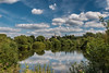 A river of questions (The Frustrated Photog (Anthony) ADPphotography) Tags: category england herefordshire landscape places travel wilton rossonwye canon1585mm canon70d canon countryside rural river watercourse landscapephotography travelphotography outdoor uk unitedkingdom greatbritain trees riverbank town church water sky clouds whiteclouds bluesky reflections reflectedlight churchspire tree wood grass park