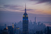 New York Sky (Pablo Margulies) Tags: newyork usa empirestatebuilding topoftherock skyscrapers sky city cityscape color olympuspenepl5 olympus40150mmf4056r