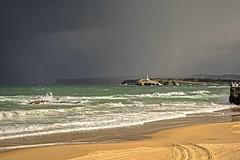 IMGP8668 (petercan2008) Tags: momento luz sol tormenta costa playa isla mouro concha sardinero santander cantabria españa