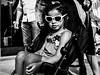 Street - Incognito (François Escriva) Tags: street streetphotography paris france olympus omd people candid monochrome black white bw noir blanc nb photo rue pushchair ittle girl sun sunglasses light summer
