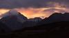 Sunset at Dzongri (Stephen T Slater) Tags: 2017 dzongri india sikkim farmhouse hut mountains sunset verticalprayerflags in