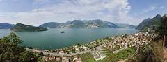 Panoramica: Monte Isola, Isola di Loreto e Marone (Josef Grunig) Tags: monteisola marone loreto iseo
