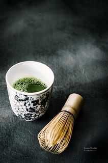 Y por la mañana, nada como un té matcha