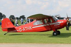 G-ATHK (GH@BHD) Tags: gathk aeronca aeronca7acchampion champion laa laarally laarally2017 sywellairfield sywell aircraft aviation