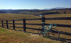 Sunday Ride (Bob Mical Ⓥ) Tags: bianchi virginia blueridgemountains bicycle