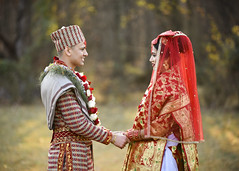 Samgai (Grant 1141) Tags: nikon color professional nepali nepal natural light red gold wedding marriage journalism photo photography d810 70200 tamron
