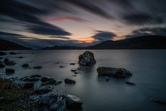 A hint of a sunset .. (Gordie Broon.) Tags: lochness dores thegreatglen glenalbyn scotland schottland landscape lastlight atmospheric ecosse lac escocia paysage inverfarigaig scottishhighlands lake lago collines hills meallfuarmhonaidh rocks paisaje szkocja caledonia sonya7rmkii sonyzeiss1635f4lens scozia scenery heuvels meer colinas hugeln landschaft gordiebroonphotography jezero sonnenuntergang atardecer alba scenic inverness foyers northernscotland lecoucherdusoleil invernessshire le clouds sunset geotagged