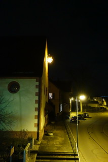 a star over the entrance of the church (1)