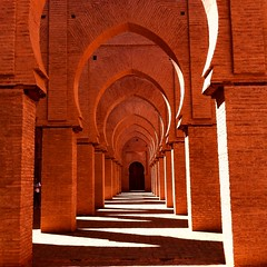 Tin Mal Mosque, High Atlas Mountains (india_snaps) Tags: redbricks shadows light highatlasmountains mosque morocco atlasmountains tinmalmosque