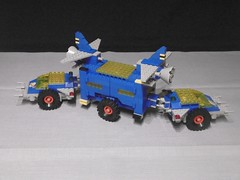1979 Classic Space Solar Power Transporter (Nils_O.) Tags: lego 1979 classic space solar power transporter 6952 vic viper base rover expedition vehicle
