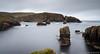 Westerwick - long exposure (Kees Waterlander) Tags: verenigdkoninkrijk mainlandshetland shetland greatbritain grootbrittannië uk westerskeld scotland unitedkingdom gb